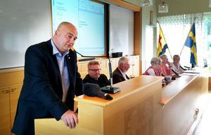 Tony Andersson leder lika stor styrka som tidigare i kommunfullmäktige. Bild: Jan Olby.