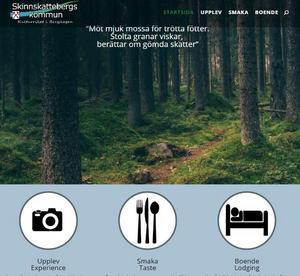 Bild: Skärmklipp från upplevskinnskatteberg.se