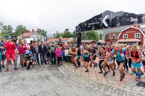 Trailloppet Vertical K, som hålls i Åre, är bara ett av de lopp som får allt fler deltagare för varje år.Bild: Petter Berggren.