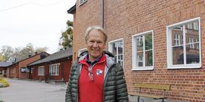 Thomas Andersson har själv många minnen av gymnastikbyggnaden från sina skolår på Karlaskolan. Han tycker att huset skulle kunna fortsätta göra nytta.