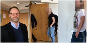 Kammaråklagare Mikael Carlsson till vänster väntas väcka åtal inom kort. Till höger: den 30-årige Rosenlundsbon och 33-årige Brunnsängsbon som alltjämt sitter häktade misstänkta för grovt narkotikabrott.