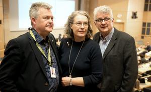 Lars Näslund (M), Anna-Britta Åkerlind (C) och Lennart Eriksson(KD) i Örnsköldsviks Alliansen.