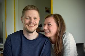 Petter Stendahl och flickvännen Elvira Castillo.