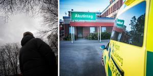 Fem gånger känner Susanne till att hennes son vårdats vid Gävle sjukhus för överdos. Ingen av gångerna har han låtit henne åka dit.