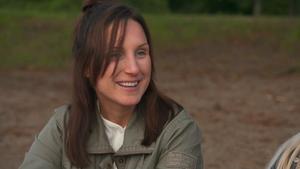Sara Håkansson,  33, som är intresserad av köttbonden Jimmy, 37. Bild: TV4