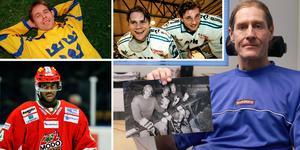 Hans Andersson har grävt både i bildarkiv och i statistikböcker samt intervjuat spelare och ledare från förr i arbetet att sammanställa rankingen där spelare från olika epoker kommer att finnas representerade. I bildmontaget syns bland andra Kalle Alander, Kjell-Åke Andersson, Edwin Hedberg och Ulf Dahlén.
