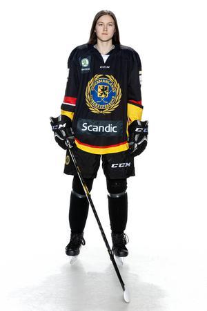 Foto: Lars-Åke Johansson/Södermanlands  Ishockeyförbund. Pandora Nåtby.