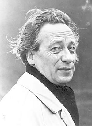 Författaren Birger Norman fick första Hedenvindplaketten.