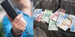 En invånare i Sorunda hjälpte två telefonbedragare med penningtvätt.