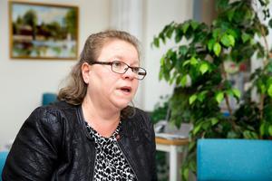 Regionrådet Denise Norström, (S), säger att det nya avtalet med kommunerna kommer att börja gälla så fort tekniken har kommit på plats, förmodligen framåt halvårsskiftet.Foto: Rune Jensen