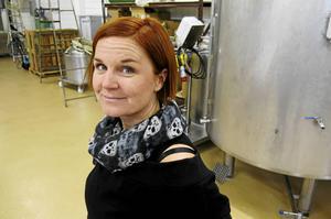 Erika Parneborg lanserar snart sin åttonde öl - Drinking the Stars.
