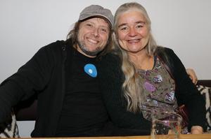 Per Fritz och Kajsa Fex Fritz från Örebro.