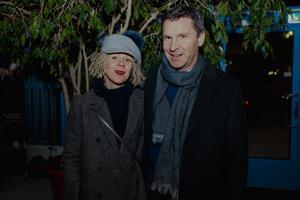 Mette Hynén Ulfsjöö och Anders Hynén. Bild: Martin Bohm