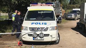 Ett stort antal personer har deltagit sökandet efter mannen som försvann i närheten av Grubbsjön, Ytterhogdal, Härjedalens kommun.