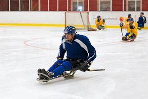 Christian Hedberg har toppat formen hemma i Hedemora inför Paralympics.Foto: Jennie Börs