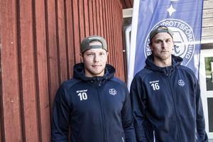 Tor Immo och Daniel Gunnarsson växte upp i Köping och blev vänner. De började säsongen som lagkamrater i Leksand. Nu ställs de mot varandra för första gången den här säsongen.