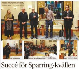 """Vid """"Jan Sparring-kvällen"""" den 7 oktober så gick över 10000 kronor till Operation Smile."""