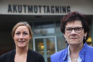 En viss del akut ortopedi införs igen vid Sollefteå sjukhus. Mycket positivt, kostaterar Frida Lassen enhetschef för akutmottagningen och Rose-Marie Söderquist enhetschef för ortopedin avdelning 15.