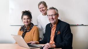 Upphandlingsenheten på Timrå kommun:  Maria Hjalmarsson, Kristina Jönsson och Stefan Eriksson.