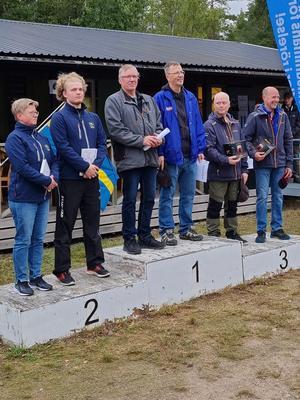 Berit Olsson, Henrik Olsson, Olle Gabrielsson, Patrik Johansson, Stefan Burchardt och Bengt Jansson. Bild: Casper Fredriksson