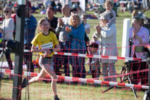 Lovisa Borg, Enhörna IF, vann damernas fem kilometer på tiden 21.03.