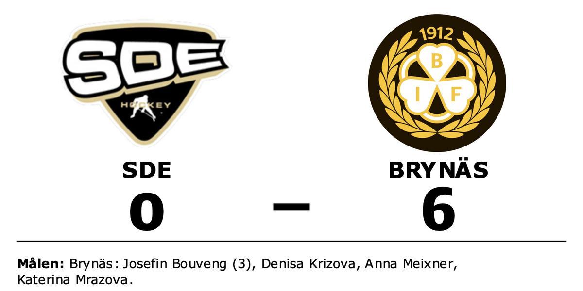 Bra start för Brynäs efter seger mot SDE i första matchen