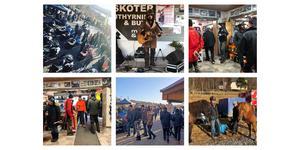 Hundratals kom till skoterns dag i Funäsdalen på lördagen.