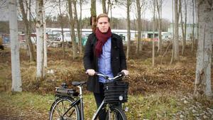 Mathias Högberg, samhällsplanerare på kommunen, hoppas att den plan som tagits fram kommer att vara lösningen på problematiken på Markusgatan.
