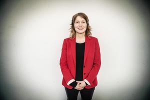 Vänsterpartiets Malin Björk har granskats av SVT. Men resultatet av granskningen är mer bekymmersamt för SVT än för Björk. Foto: Tomas Oneborg / SvD / TT