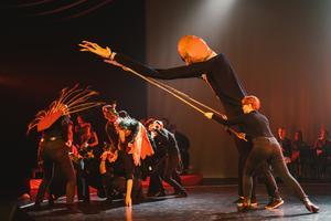 I lördags var det premiär för Carlforsskas föreställning