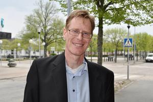 Partiledaren Mats Selander är i Aneby för Kristna värdepartiets kongress.
