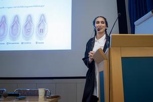 Bita Eshraghi ansvarar för en mottagning på Södersjukhuset  som tar hand om könsstympade kvinnor.