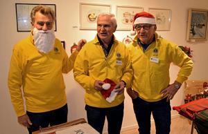 Anders Källving, Jan-Åke Wiberg och Ove Täkte tar hand om det första passet.
