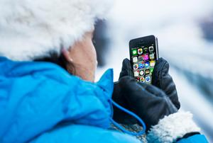 Ta bara fram luren i nödfall när det är riktigt kallt.Bild: Claudio Bresciani/TT