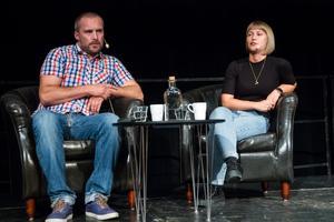 Om hur ungdomar lockas av nazistiska organisationer samtalade Kristian Jeppesen och Kristina Wicksell.