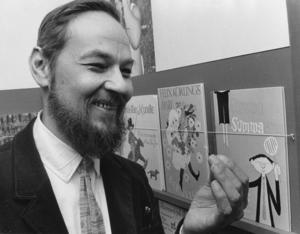 Lennart Hellsing 1966.Foto: SCANPIX