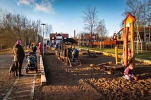 Genrebild. Nybroparken – för Faluborna eller för skolelever?