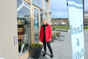 Café Charms ägare Marie Strömberg fick en tråkig start på veckan.