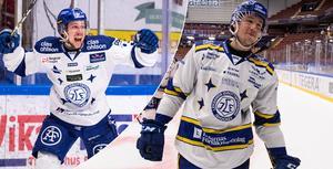 August Berg avslutade förra säsongen på bästa sätt och har fått en fin start på sin debutsäsong i SHL också. Foto: Daniel Eriksson/Bildbyrån