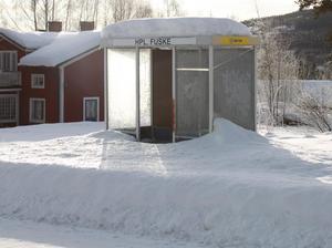 Busshållplatsen i Fuske lär inte bli mer välbesökt efter det att domen stoppar husbyggen i byn.