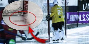 Anders Svenssons lilla egenhet när det blir match.