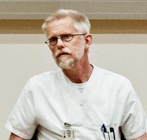 Claes-Mårten Ingberg är chefsläkare inom hälso- och sjukvårdsförvaltningen och ansvarar för beredskapsfrågor.