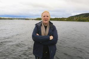 Kristina Kenning Östling hoppas och tror att Östersunds nya vattenverk ska stå klart 2025.