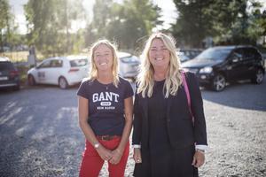 Helena Gulliksson (KD) och Maria Gulliksson (KD).