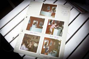 Polaroidfoton från premiären 1969.
