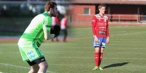 Linus Dahlgren och Rasmus Rehnberg var två av spelarna som imponerade mot IFK Uppsala.