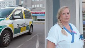 Hot och våld på sjukhuset har blivit vardag. Kostnaderna för bevakning fortsätter att stiga och vakter har blivit ett naturligt inslag i sjukvården