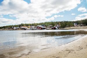 Stranden i Junibodsand.
