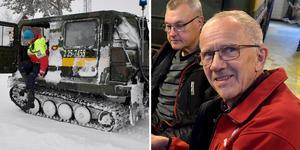 Arne Näsvall har gjort över 50 år som fjällräddare. Foto: Nisse Schmidt