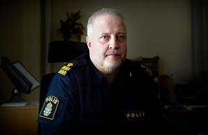 Bo Nordqvist förundersökningsledare vid polisen i Kramfors.